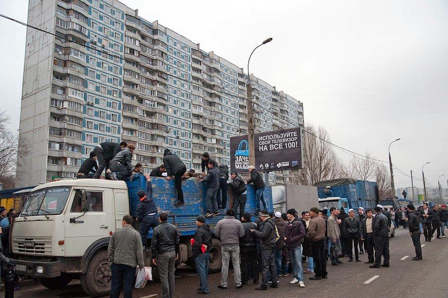 0336 Праздник жертвоприношения Курбан Байрам в Москве