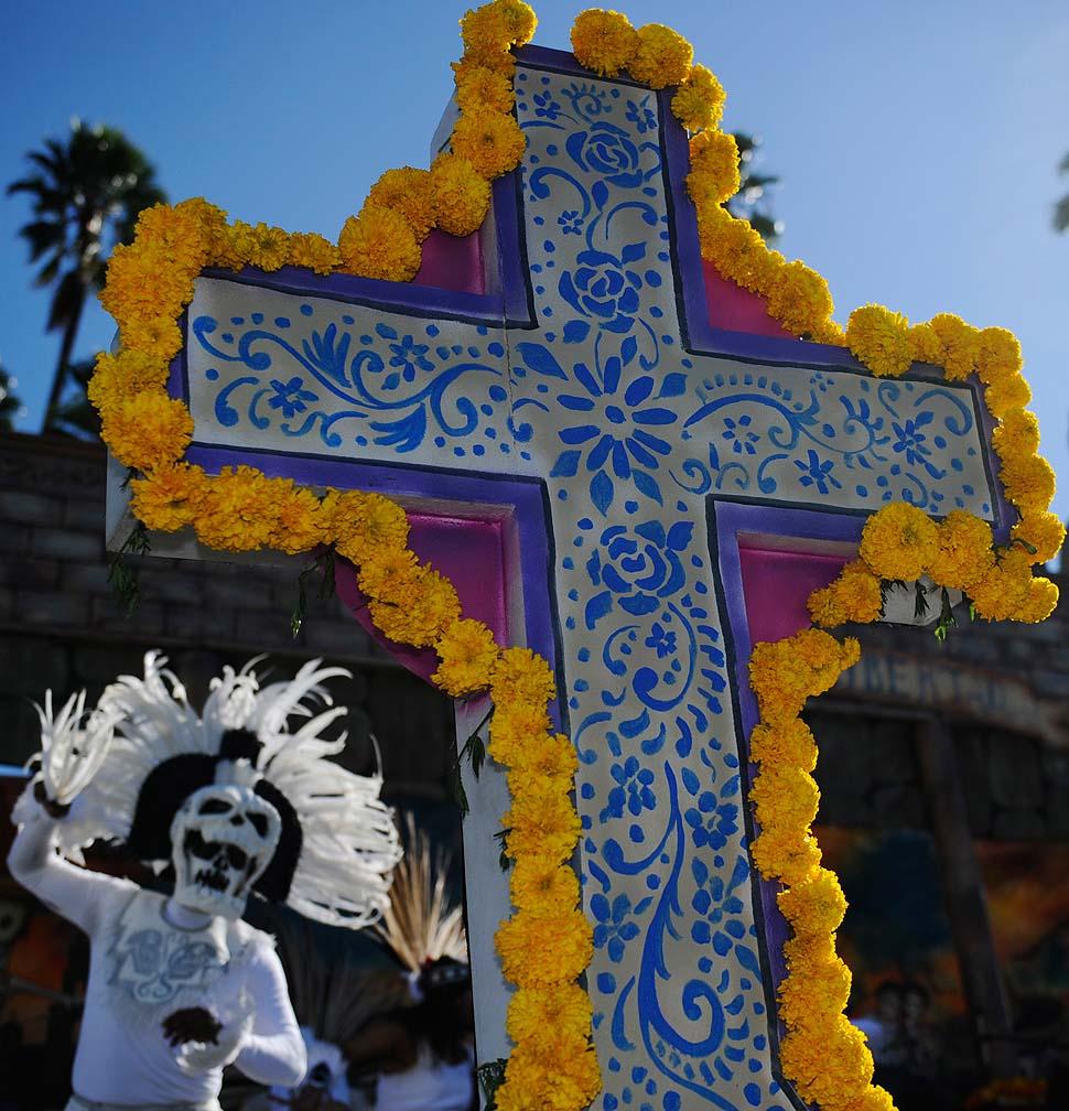 08 День Мертвых в Лос Анджелесе
