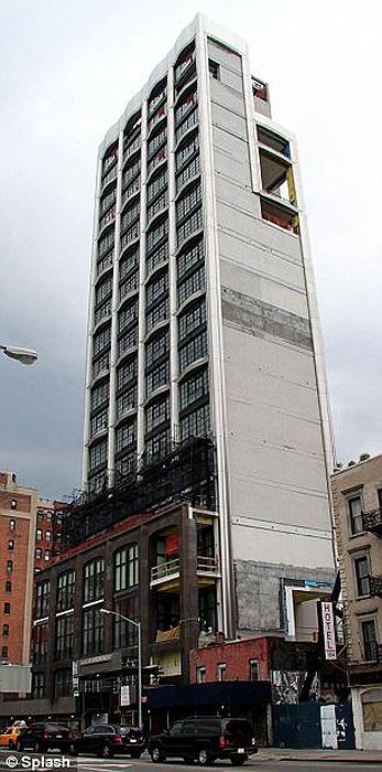 0867 Апартаменты Николь Кидман на Манхэттене
