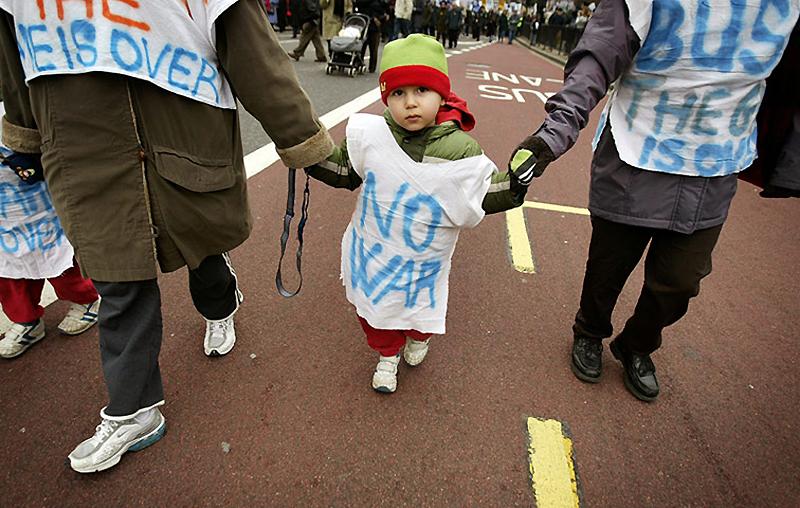 Вспоминая историю: протесты, беспорядки и забастовки