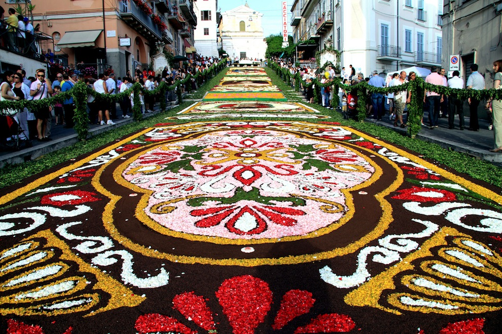 A floral carpets Italy