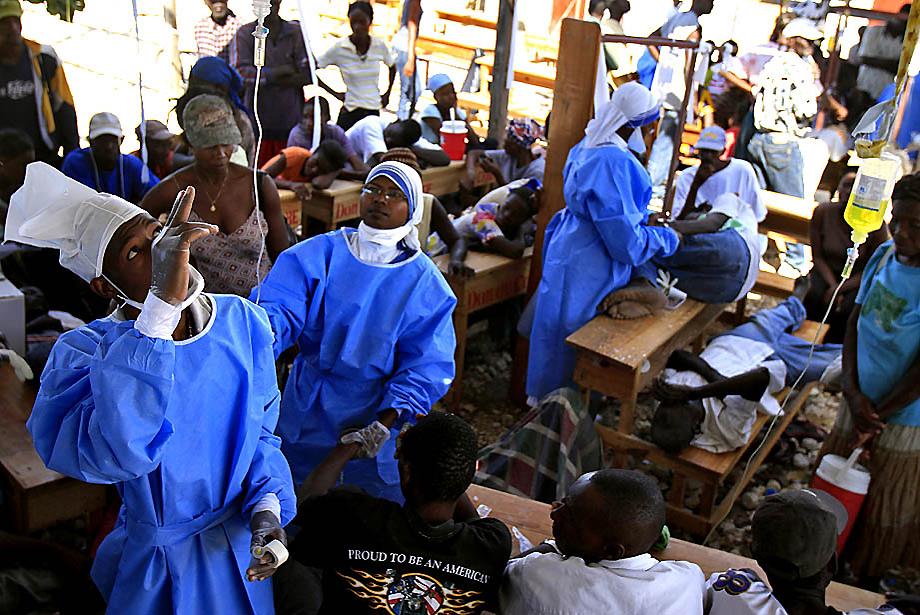 1053 Эпидемия холеры на Гаити (Часть 2)