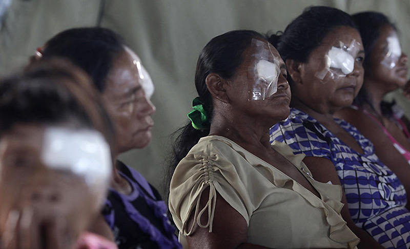 1069 Dokter di belantara hutan tropis di Brazil