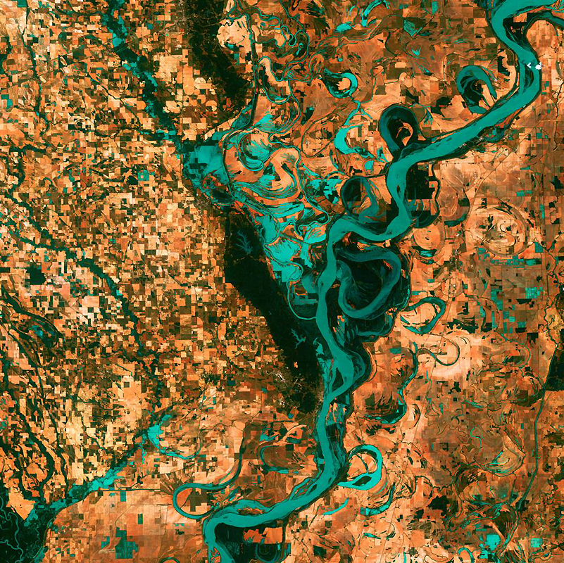 1080 Земля как произведение искусства