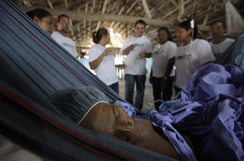 1185 Dokter di belantara hutan tropis di Brazil