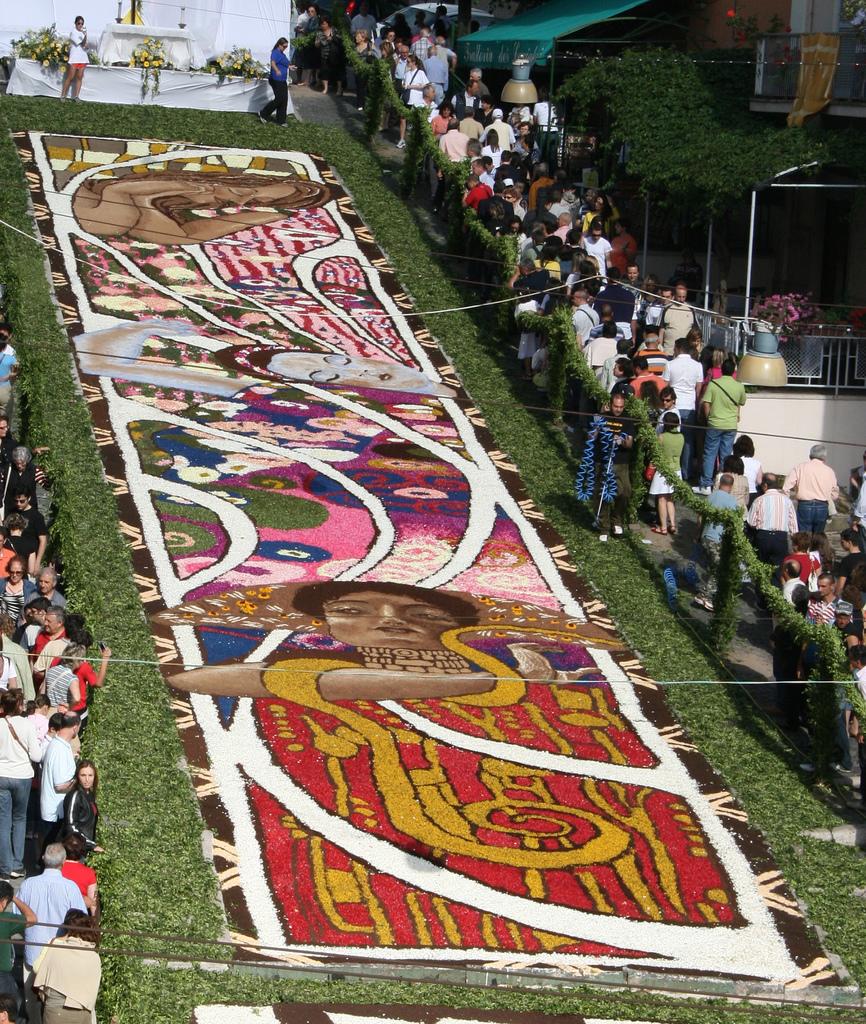 12 Цветочные ковры Италии