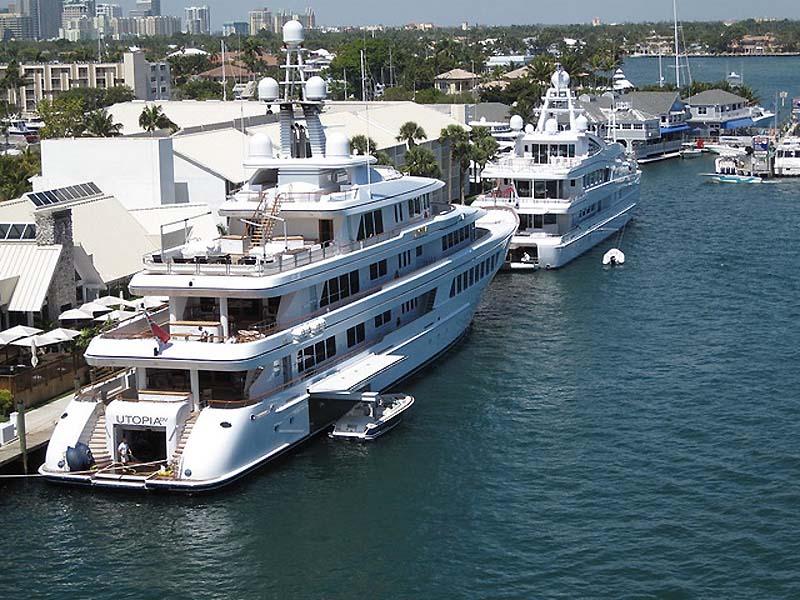 Огромные яхты