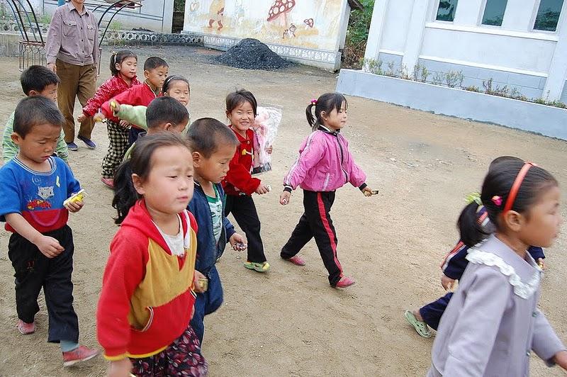 КНДР. Дети - будущее Кореи
