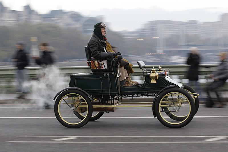 Автопробег на ретромобилях из Лондона в Брайтон [Фоторепортаж]