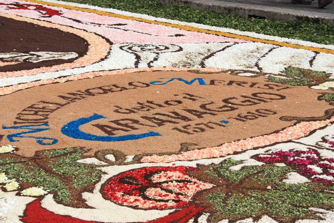 17 Цветочные ковры Италии
