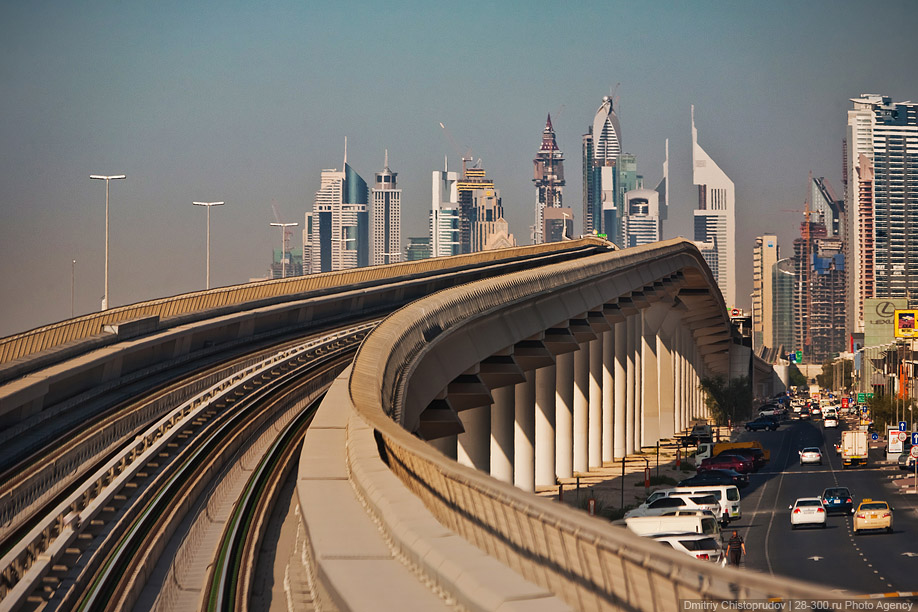 1734 Дубайский метрополитен