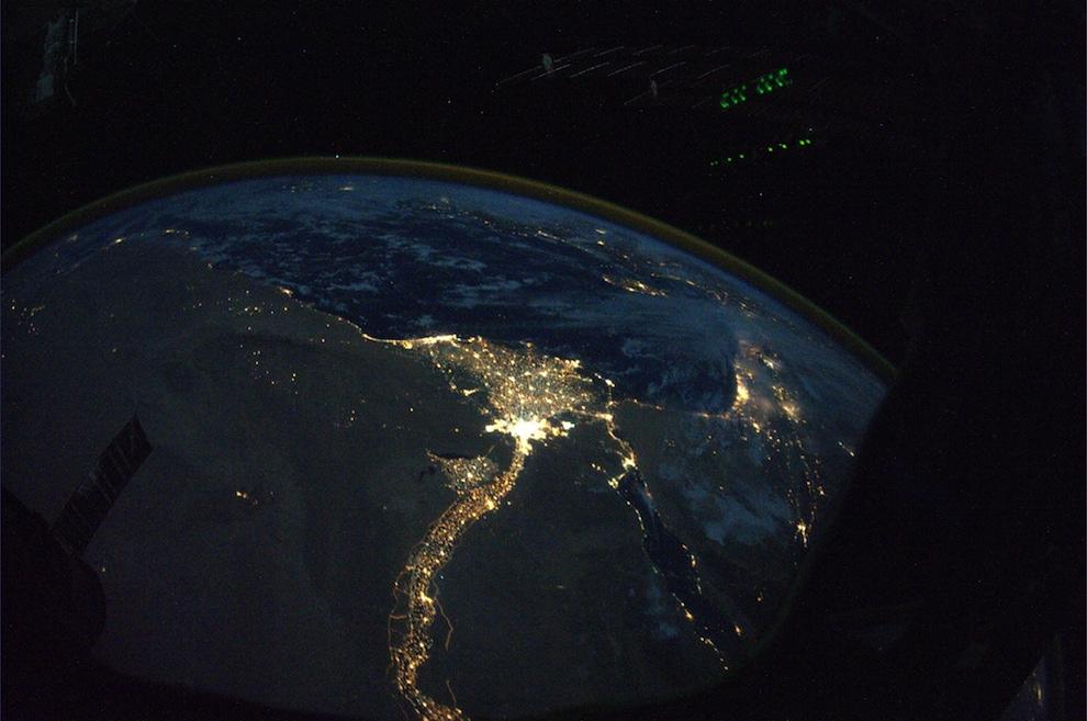 1744 Невероятные фото из космоса астронавта Дугласа Уилока