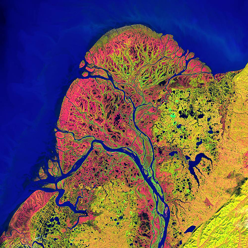 1835 Земля как произведение искусства