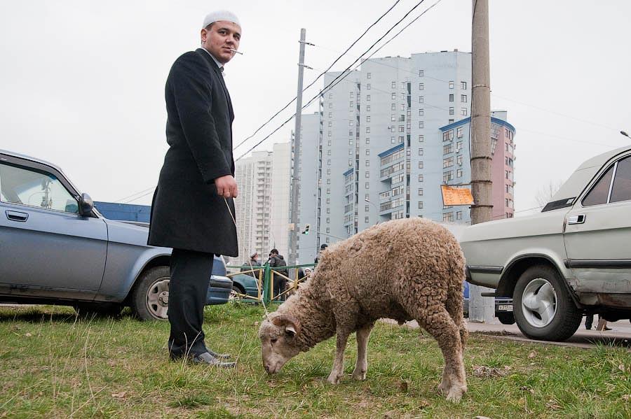 2134 Hari Raya Kurban Idul Adha di Moskow
