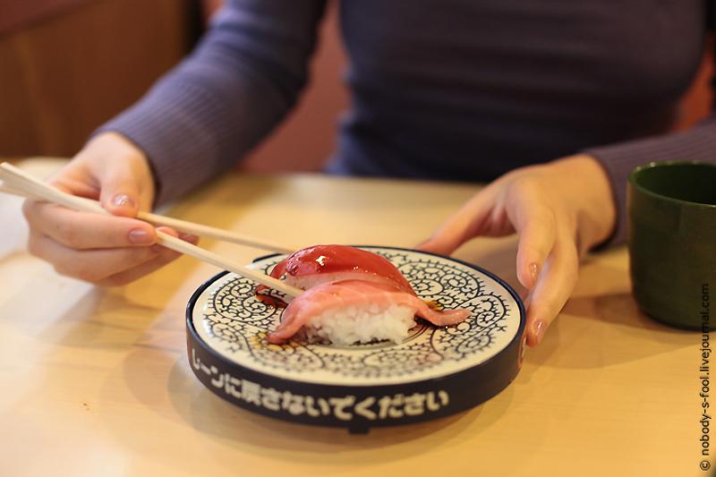 2618 Репортаж из конвейерного ресторана суси