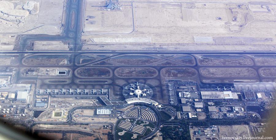 Полетное. Абу-Даби - Москва.