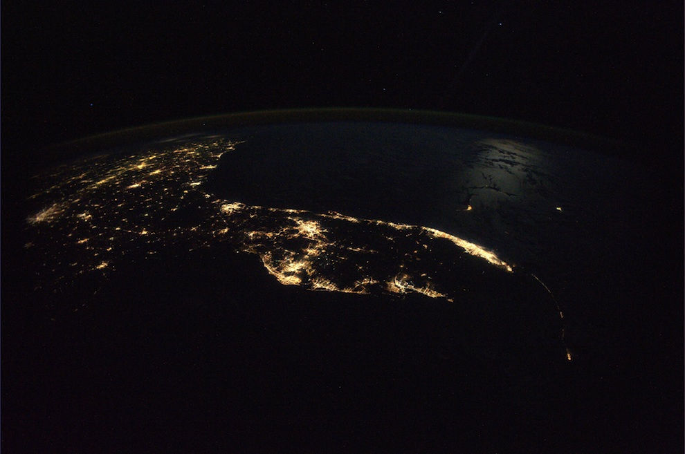 2624 Невероятные фото из космоса астронавта Дугласа Уилока