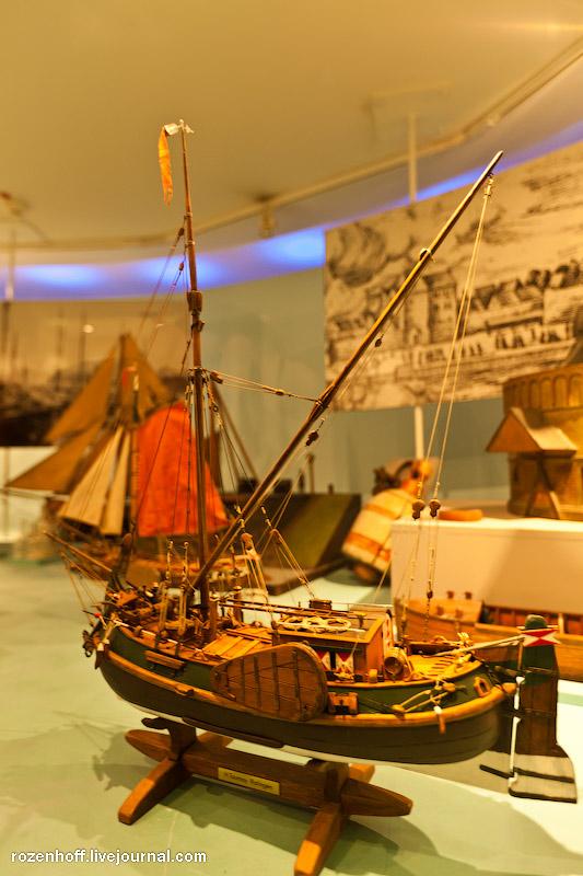 Музей судоходства в Дюссельдорфе