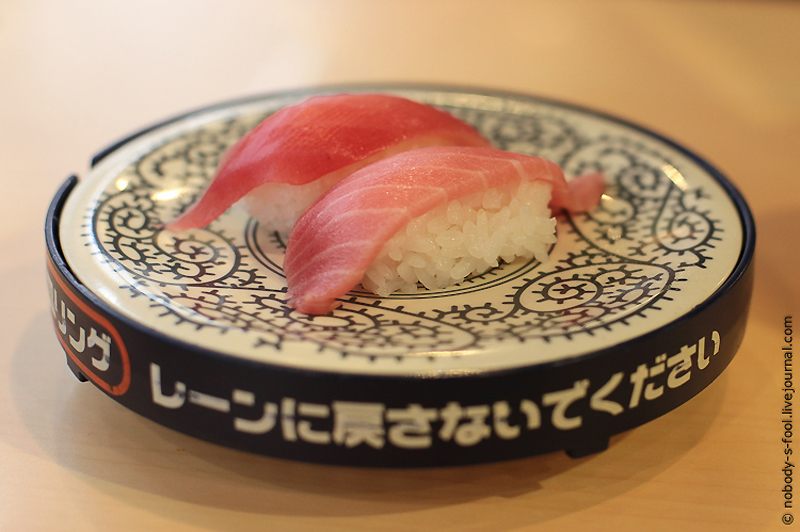 2717 Репортаж из конвейерного ресторана суси