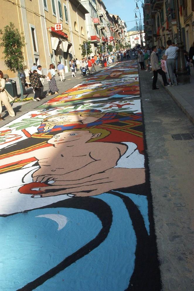 3 662x989 Цветочные ковры Италии
