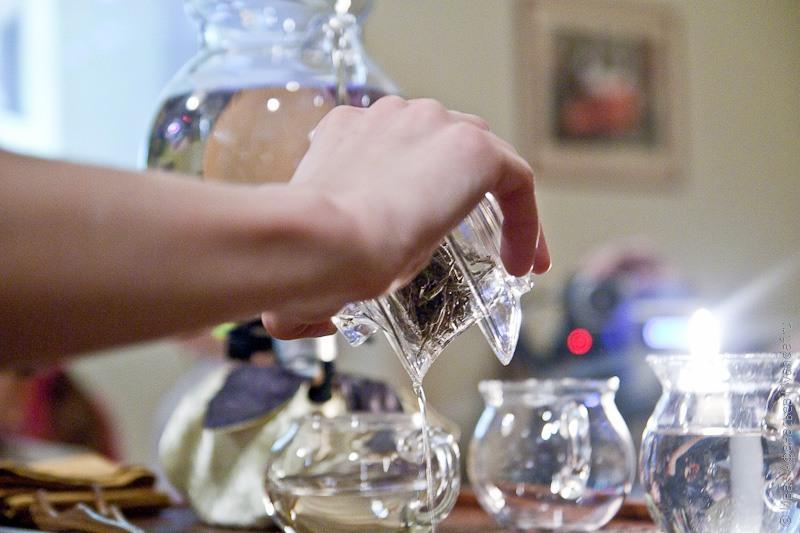 Чайная церемония в Музее чая
