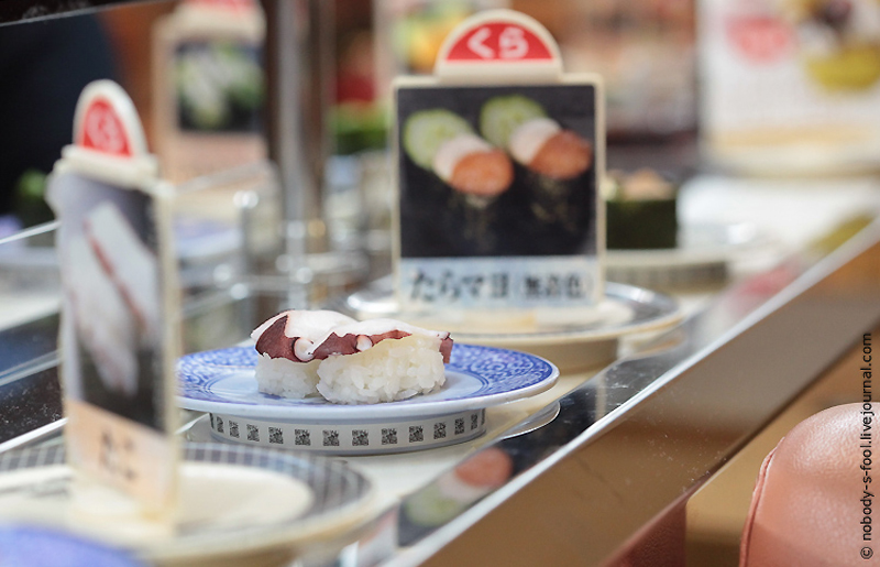 3120 Репортаж из конвейерного ресторана суси