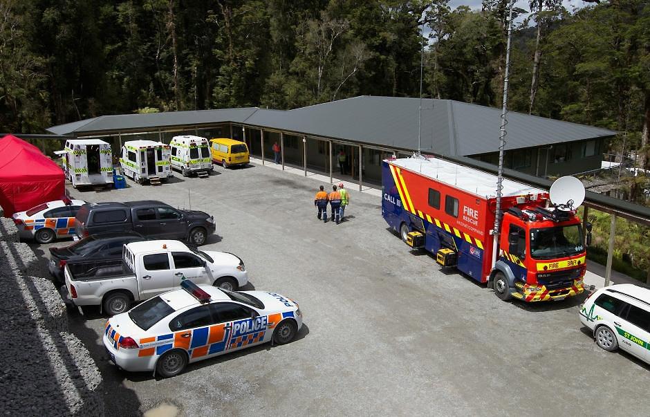 38680050 Гибель шахтеров под завалом в Новой Зеландии