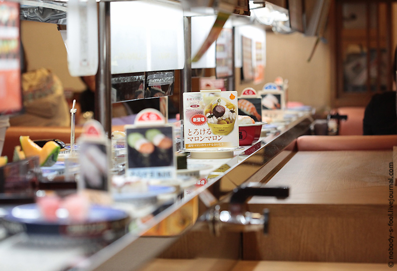 459 Репортаж из конвейерного ресторана суси