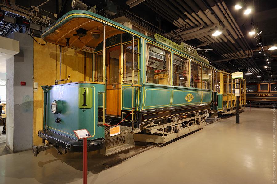 Стокгольмский музей городского транспорта