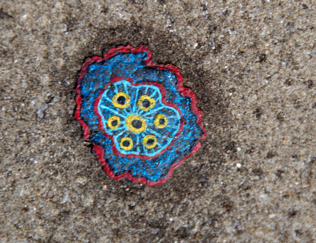 628 Уличное искусство из жевательной резинки