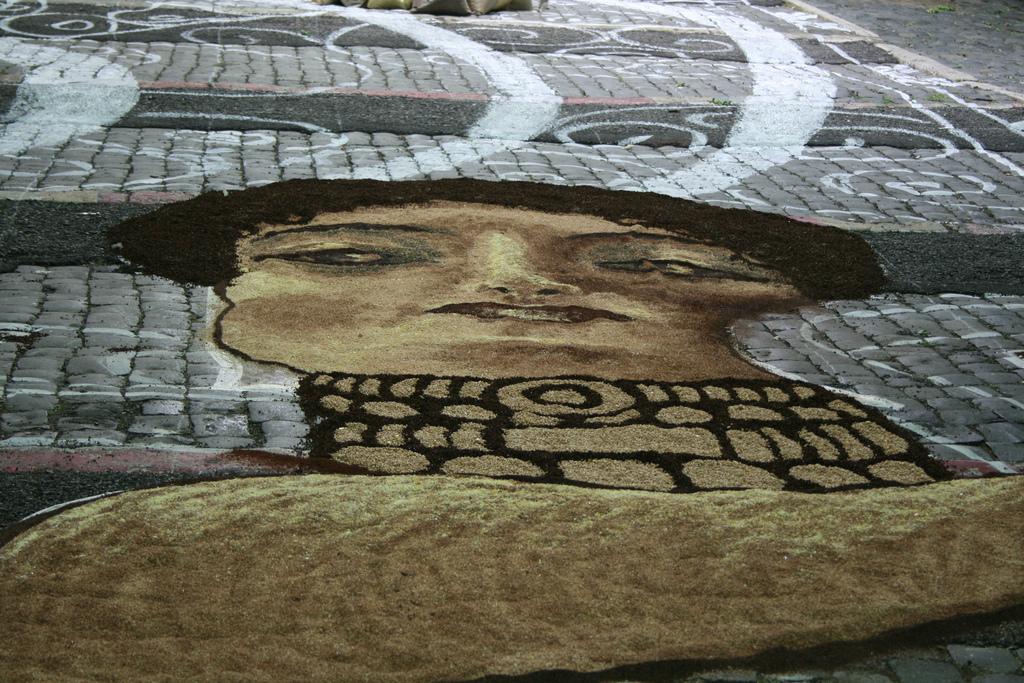 8 Цветочные ковры Италии