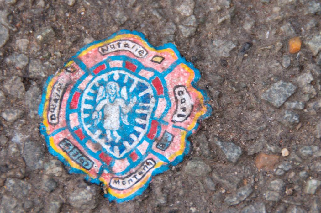827 Уличное искусство из жевательной резинки