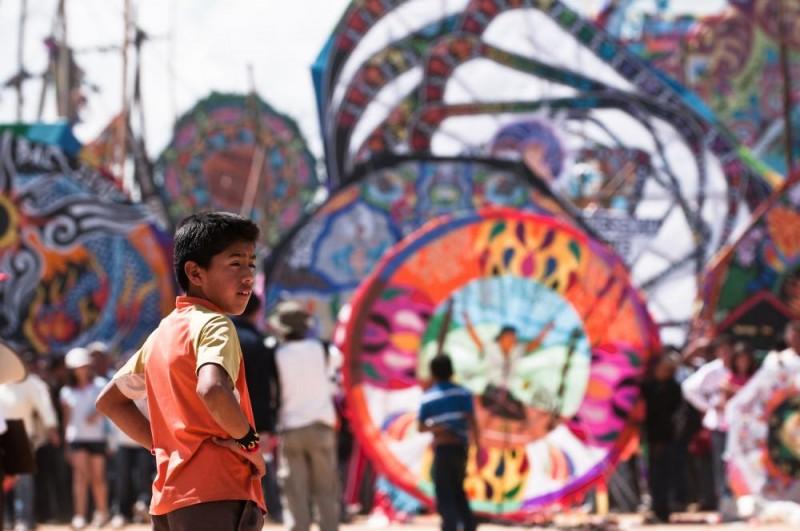 Гватемала: фестиваль воздушных змеев