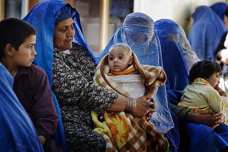 CARE in Afghanistan 005 Охрана материнства и детства в Афганистане