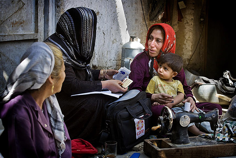 CARE in Afghanistan 006 Охрана материнства и детства в Афганистане