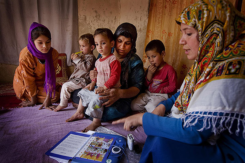 CARE in Afghanistan 012 Охрана материнства и детства в Афганистане