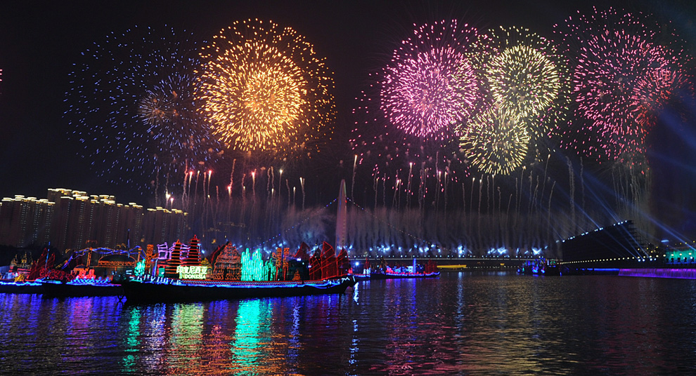 a03 2590 Церемония открытия 16 х Азиатских игр