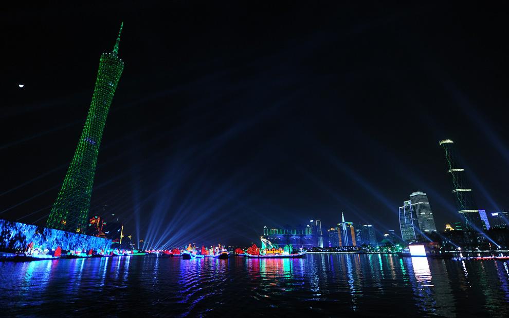 a04 2590 Церемония открытия 16 х Азиатских игр