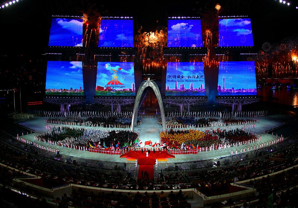 a05 2590 Церемония открытия 16 х Азиатских игр