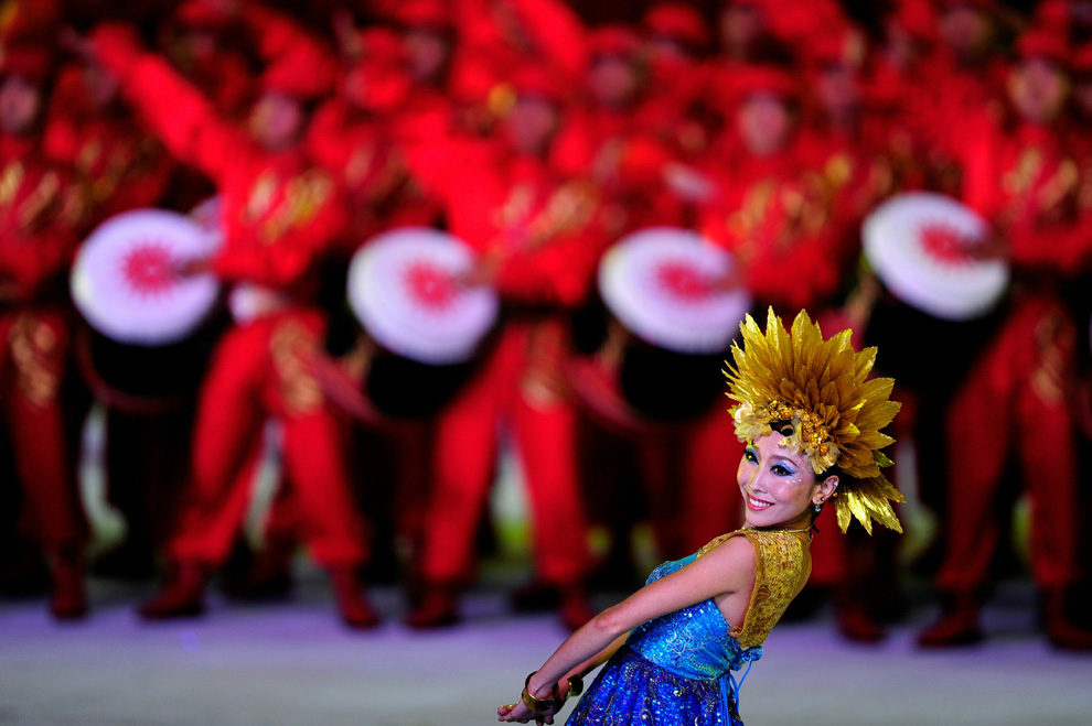 a07 2590 Церемония открытия 16 х Азиатских игр