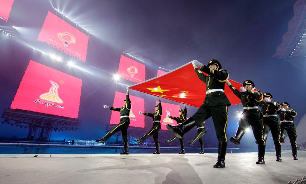 a11 2590 Церемония открытия 16 х Азиатских игр