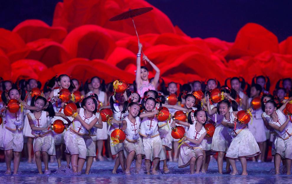 a15 2590 Церемония открытия 16 х Азиатских игр