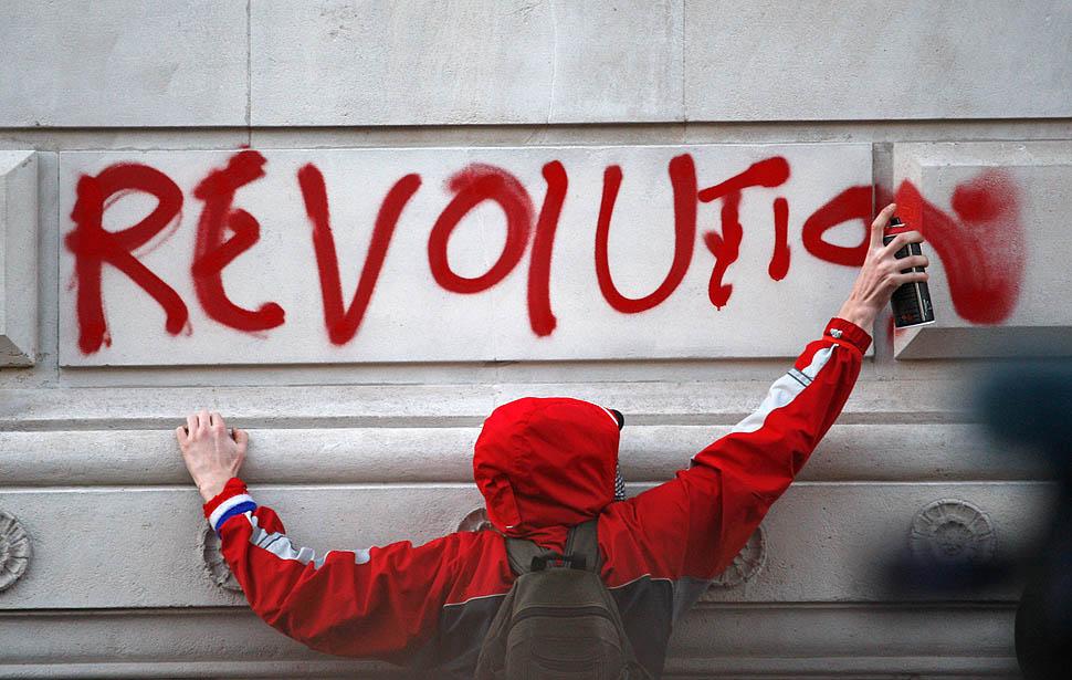 london protest03 Студенческие беспорядки в Лондоне продолжаются