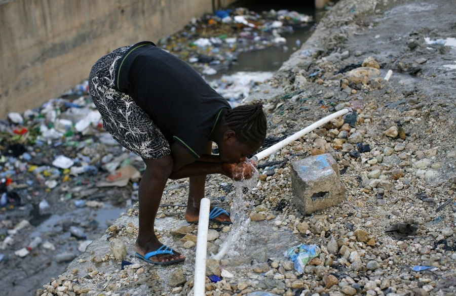 pb 10115 Источник эпидемии: использование воды на Гаити