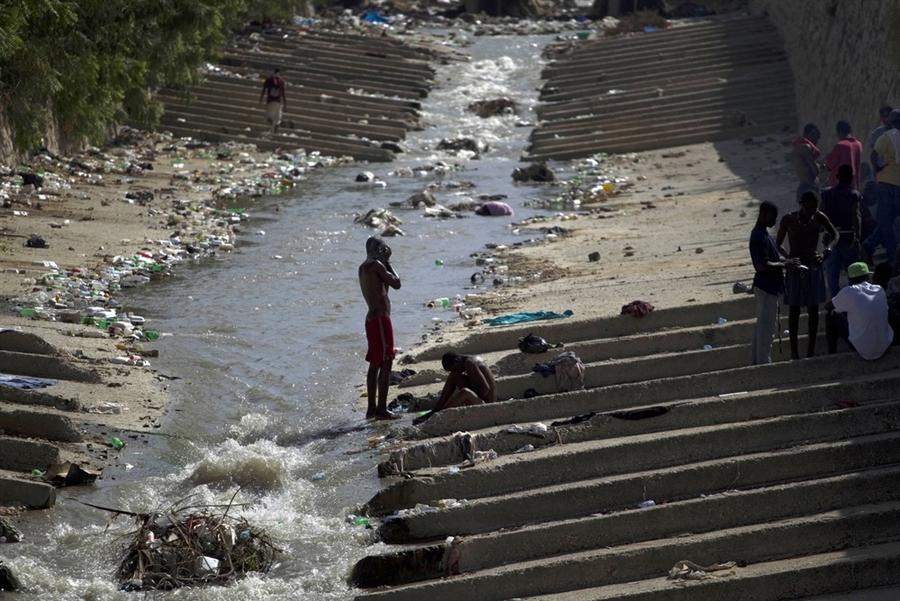 pb 10117 Источник эпидемии: использование воды на Гаити