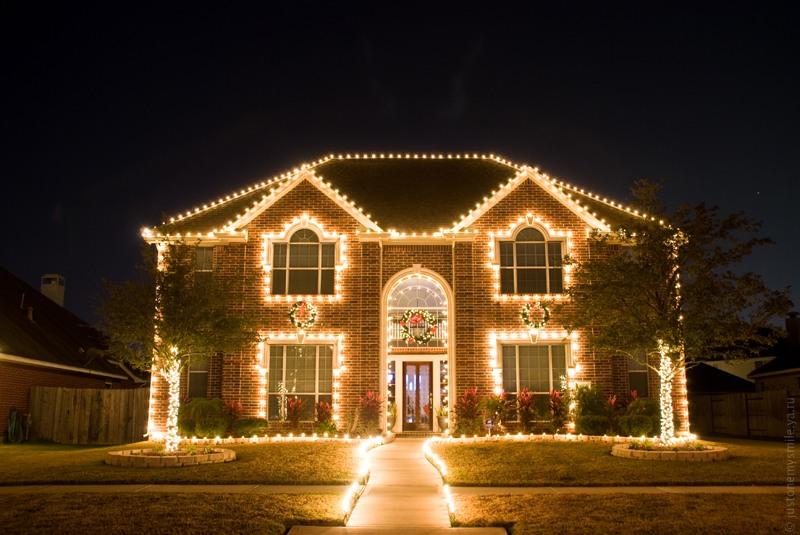 0151 Рождественские огни американских городов