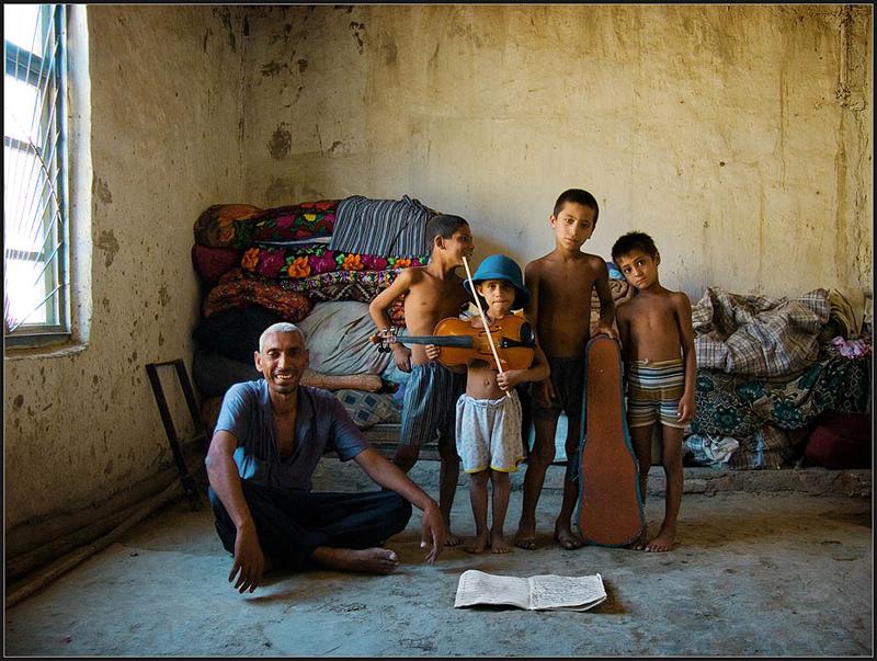 Цыгане-люли из Бухары