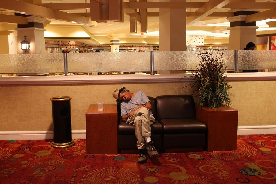 Экономический упадок в Лас Вегасе
