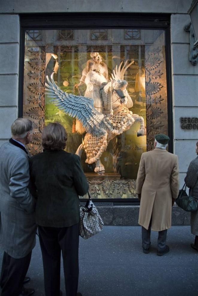 1134 661x990 Рождественские витрины магазинов Нью Йорка