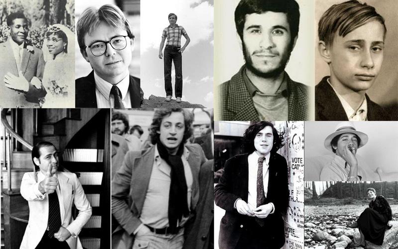 10 мировых лидеров в молодости